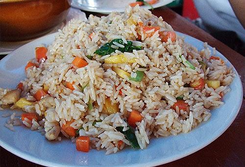 Еда в Тайланде. Жареный рис