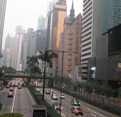 Фото Гонконга: небоскребы даунтауна