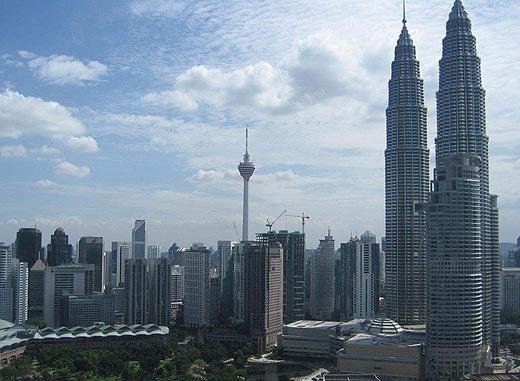 Куала-Лумпур. Фотосессия на крыше