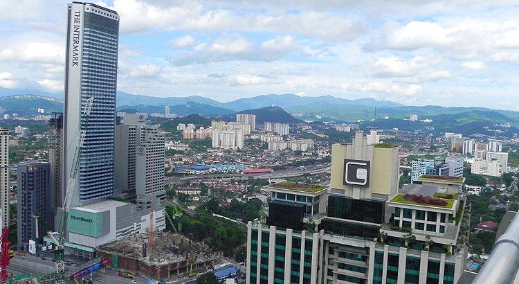 Малайзия. Место для фотосессии в Куала-Лумпур. 39-й этаж отеля