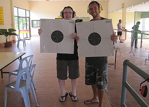 пострелять из пистолета в тайланде