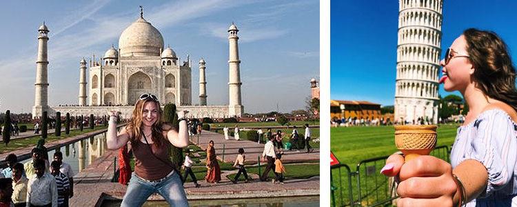 Как правильно фотографироваться в путешествиях