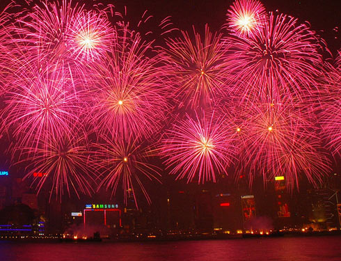 Китайский новый год в Гонконге