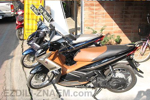 арендовать мотобайк в Тайланде