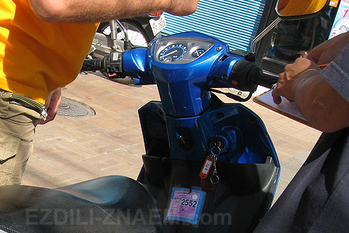 аренда мотобайка в Таиланде
