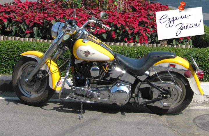 Мотоцикл Triumph в Чиангмае