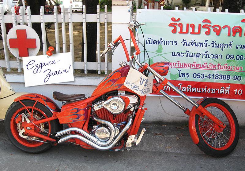 Мото тюнинг по-тайски