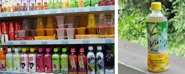Напитки Таиланда. Что можно покупать в магазинах