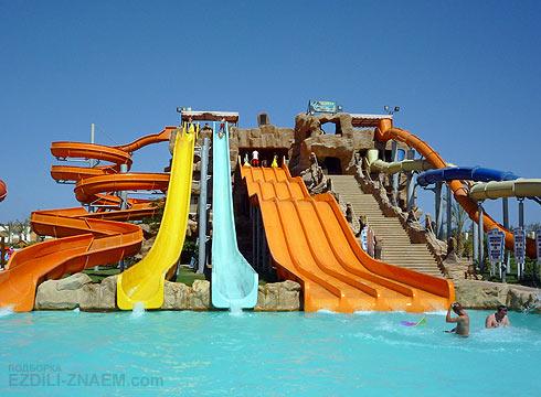 Отель с аквапарком в Шарме: Aqua Blu Sharm
