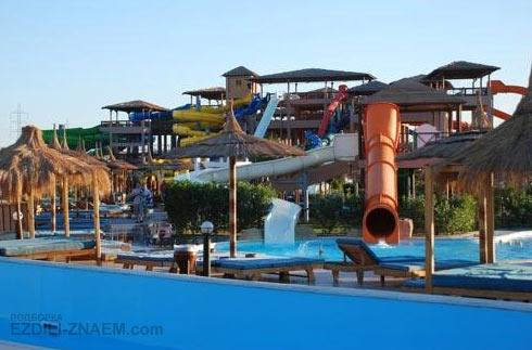Отель с аквапарком. Хургада