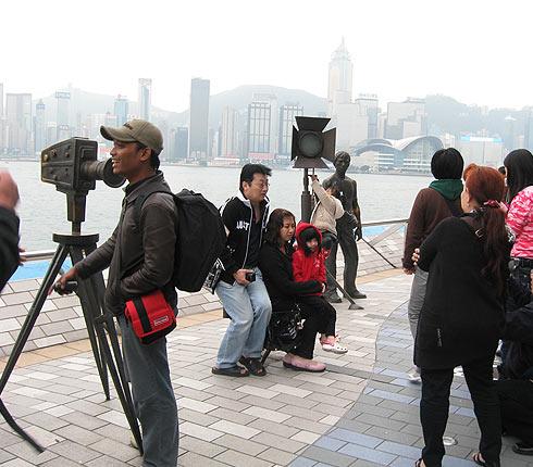 Поездка в Гонконг. Аллея Звезд