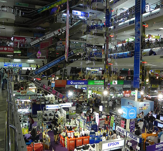 Шоппинг в Бангкоке. Пантип Плаза
