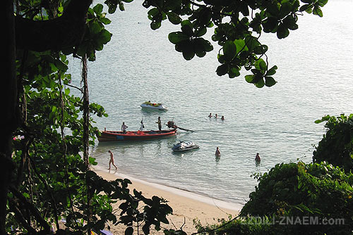 Скрытый пляж Пхукета
