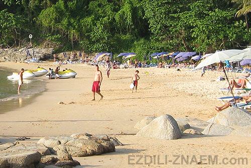 малоизвестный пляж Пхукета