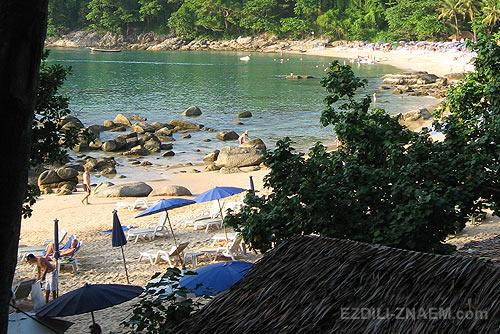 Пляж между Каммалой и Сурином