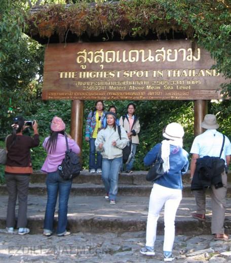Экскурсия к вышей точке Тайланда