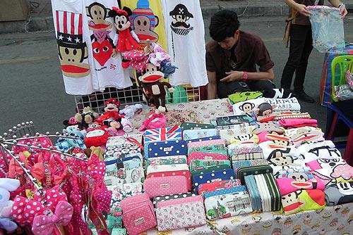 Чиангмай: воскресный рынок