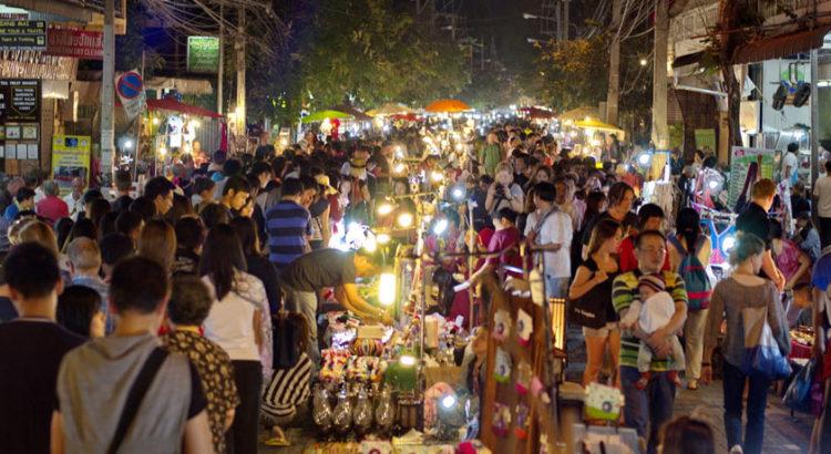 Тайланд. Чиангмай: воскресный рынок