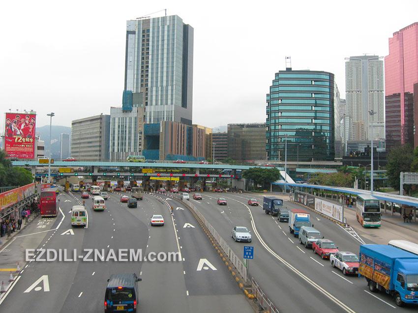 На фото Гонконг в феврале