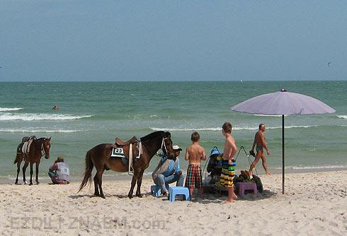 На пляже Хуа Хин. Отзывы