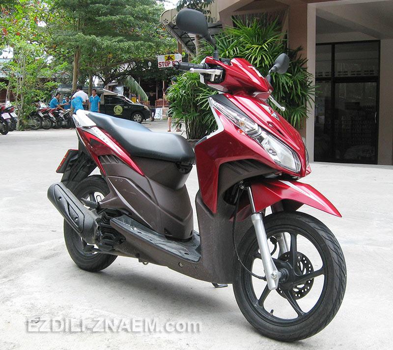 """Мотобайк """"Хонда Клик"""" в Таиланде"""