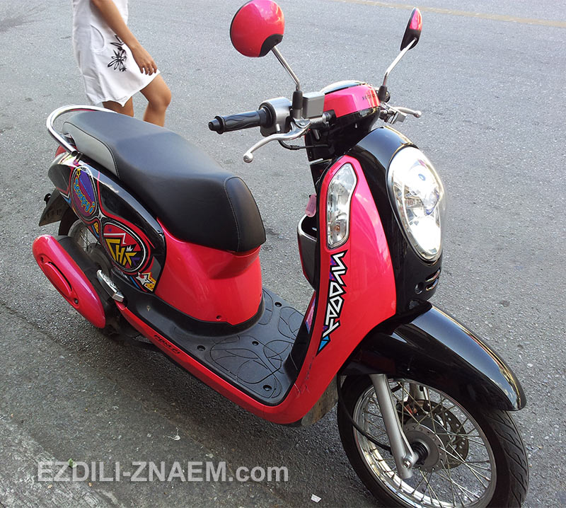 "Мотобайк ""Хонда Скупи"" в Таиланде"