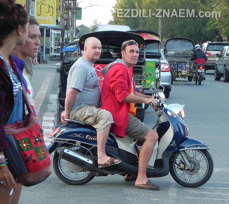 """Мотобайк """"Ямаха Фино"""" в Таиланде"""