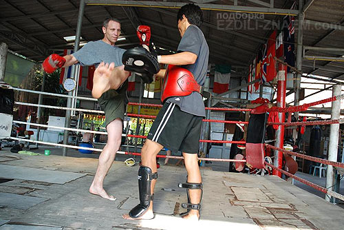 муай тай тренировки в Тайланде