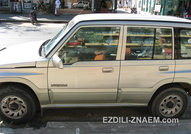 арендованная машина в Краби