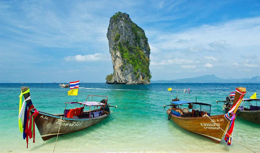 Новый год в Таиланде, на море