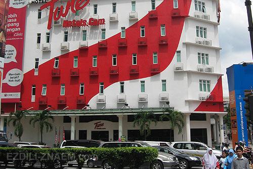 Отели в Куала-Лумпур: бюджетный отель Туна