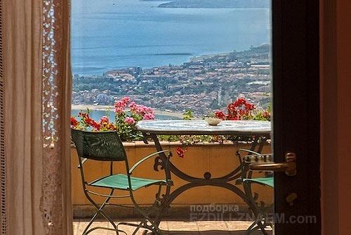 Отель Италии с лучшим видом из окна