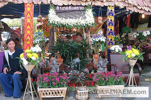 цветы на Празднике цветов Тайланда