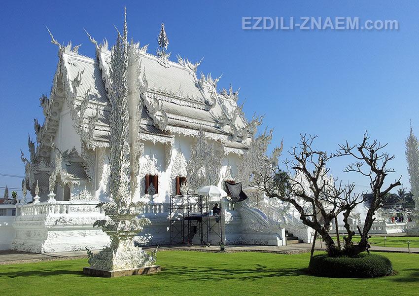 Белый Храм Тайланда во всей красе