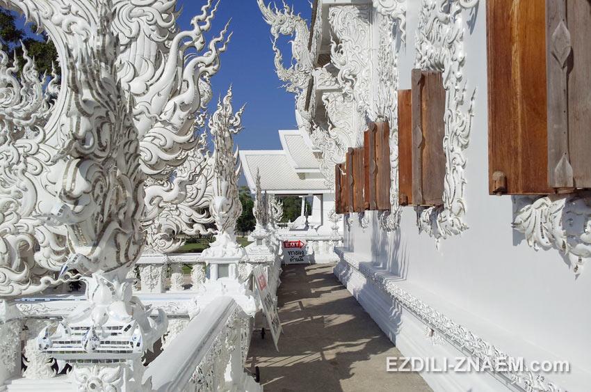 Экскурсия в Белый Храм в Таиланде