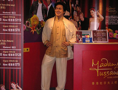 Джеки Чан: фото для рекламы