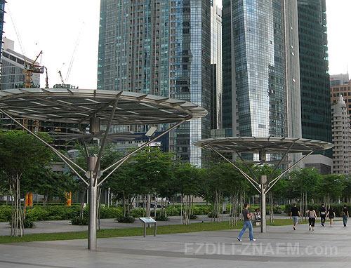 Набережная в Сингапуре