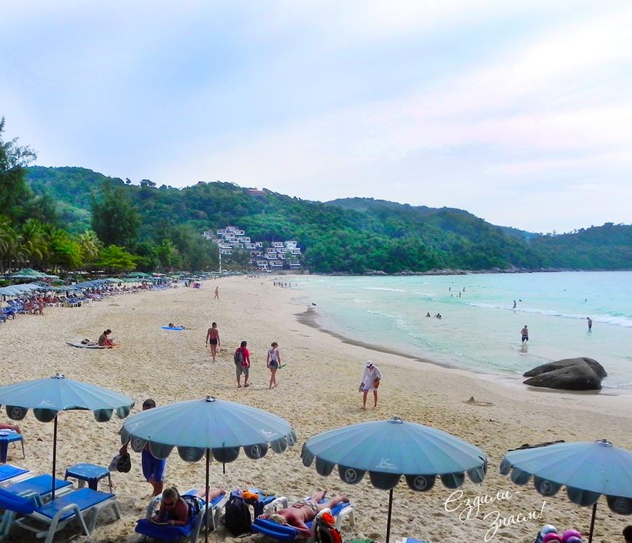 На фото: пляж Ката Ной на Пхукете