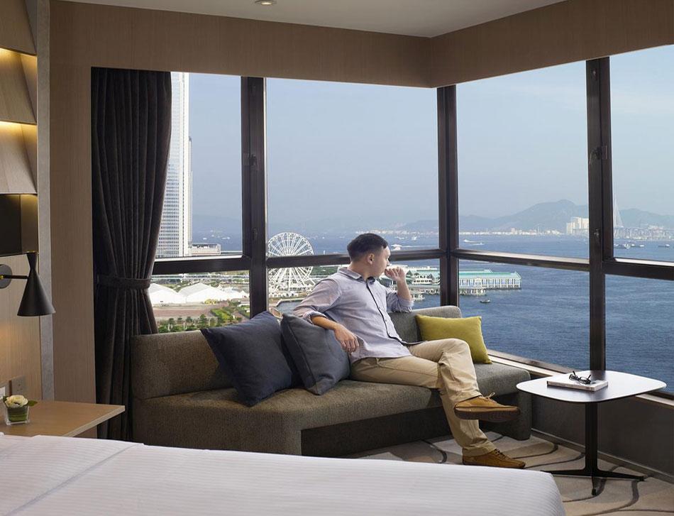 The Harbourview Hotel - отель в Гонконге с видом на залив Виктории