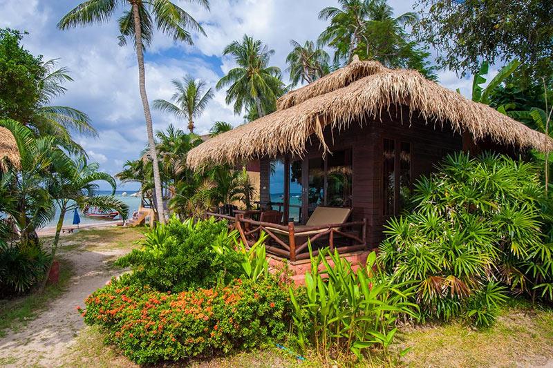 бунгало отеля Palm Leaf Resort на острове Тао