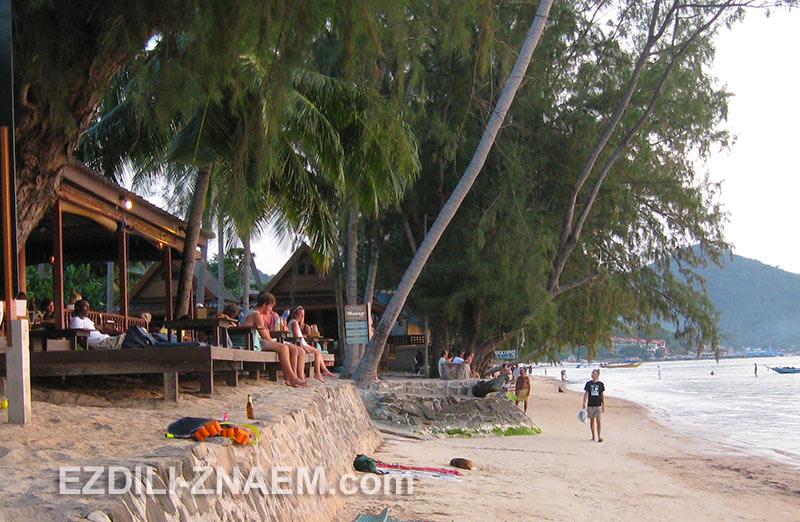 встреча заката на острове Ко Тао в Тайланде