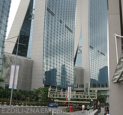 Сингапур: отель Marina Bay Sands
