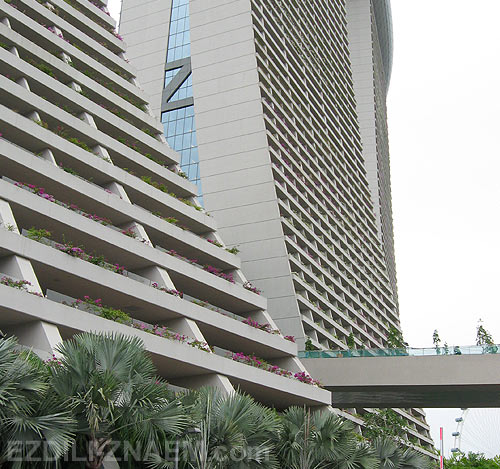 Сингапур: отель Марина Бэй Сэндс