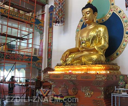 "Буддийский Дацан ""Рингпоче Багша"" в Улан-Удэ"