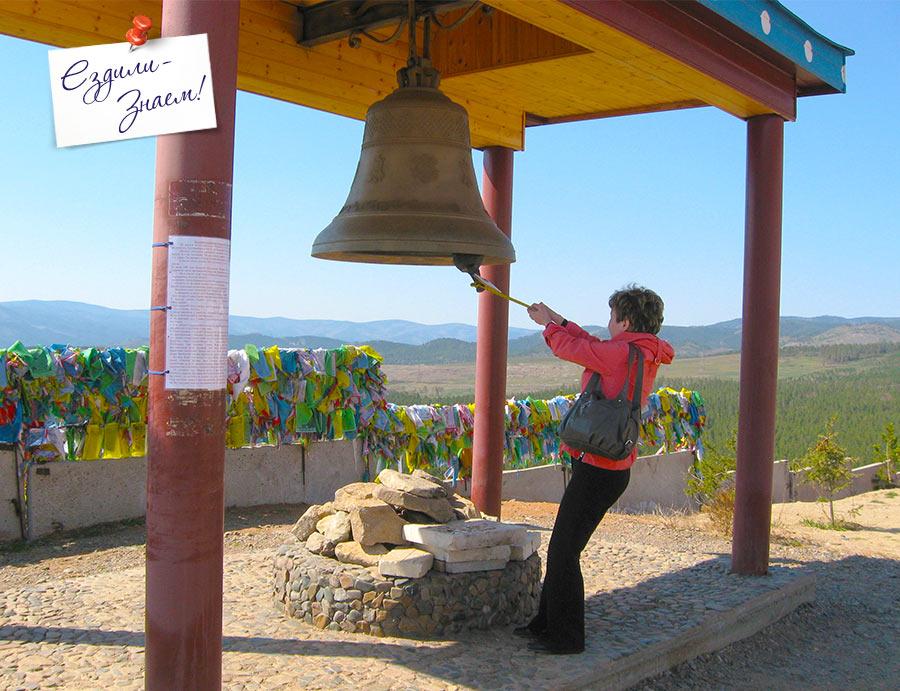 """колокол в буддийском Дацане """"Рингпоче Багша"""". Улан-Удэ"""