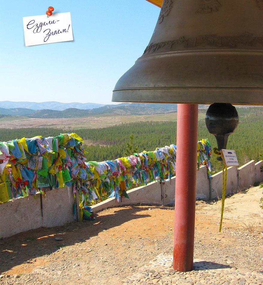 """на вершине Лысой горы, в буддийском Дацане """"Ринпоче Багша"""", Улан-Удэ"""