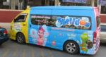 Раскраска автомобилей в Тайланде – цветной позитив