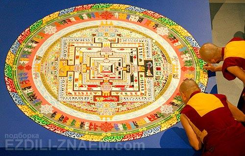 Практика буддизма: искусство мандала