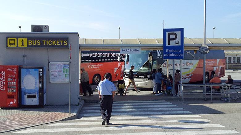 Автобус из аэропорта Жироны до Ллорет де Мар