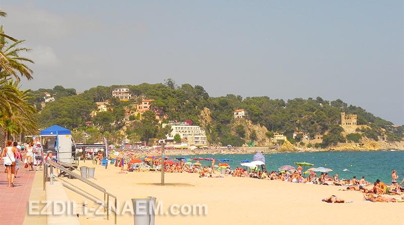 Пляжи в Ллорет де Мар, Испания
